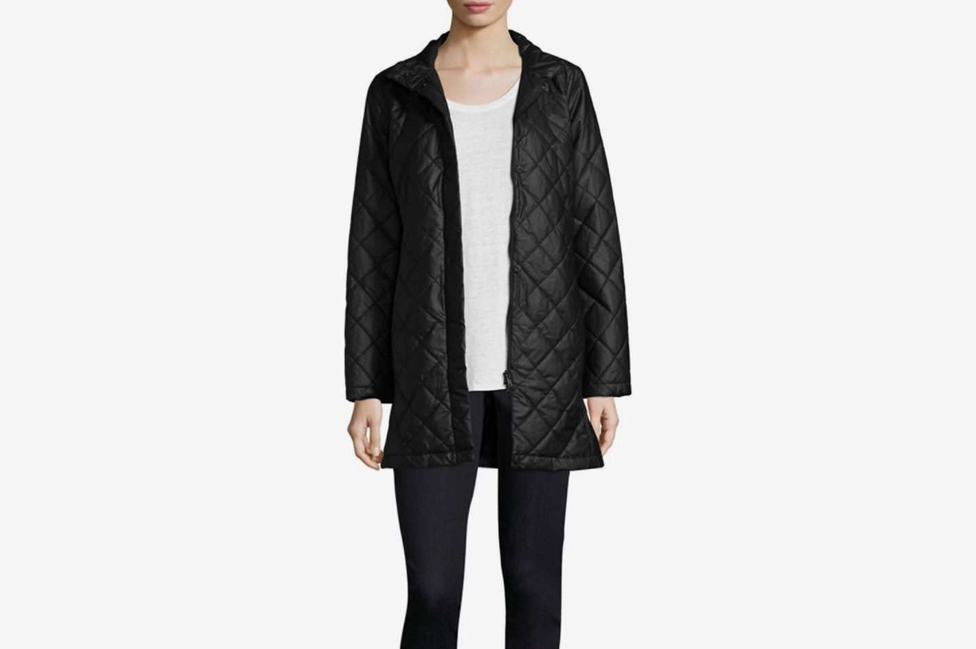 Eileen Fisher Quilted Jacket