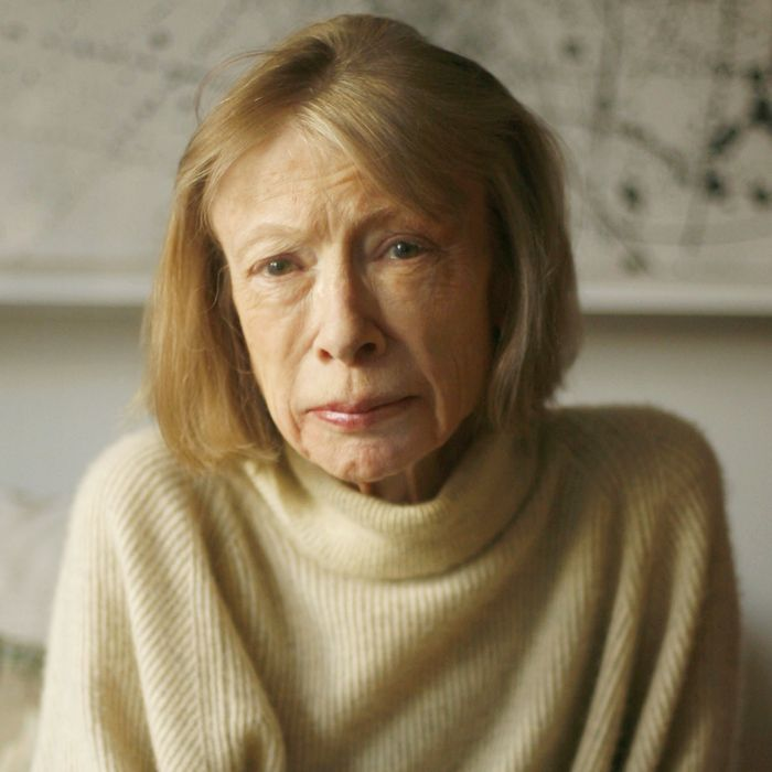 USA - American Writer Joan Didion