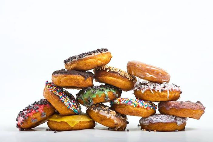 Serious question: Would you eat a doughnut that is completely covered in sprinkles?