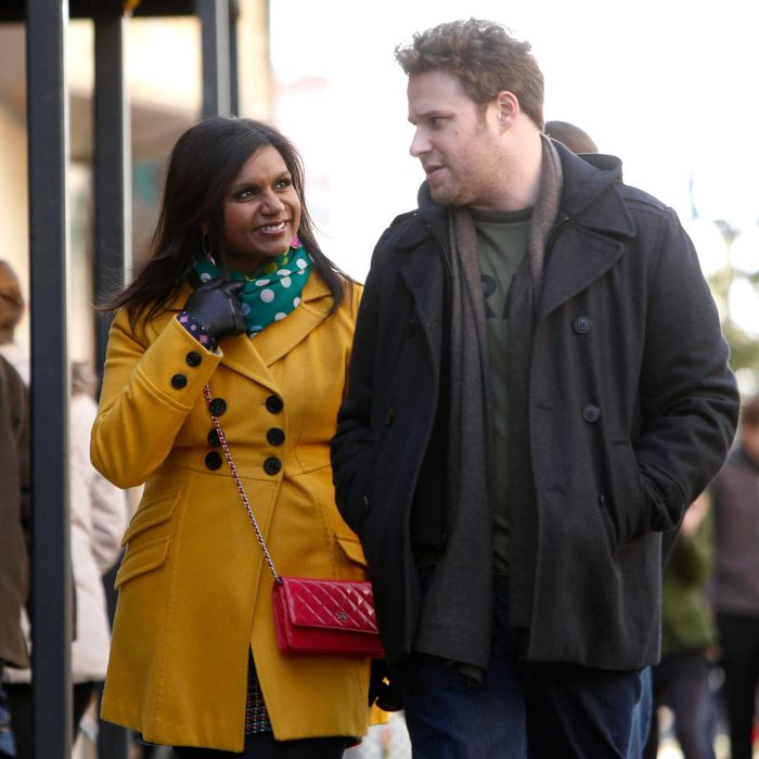 THE MINDY PROJECT: Mindy (Mindy Kaling, L) reunites with her