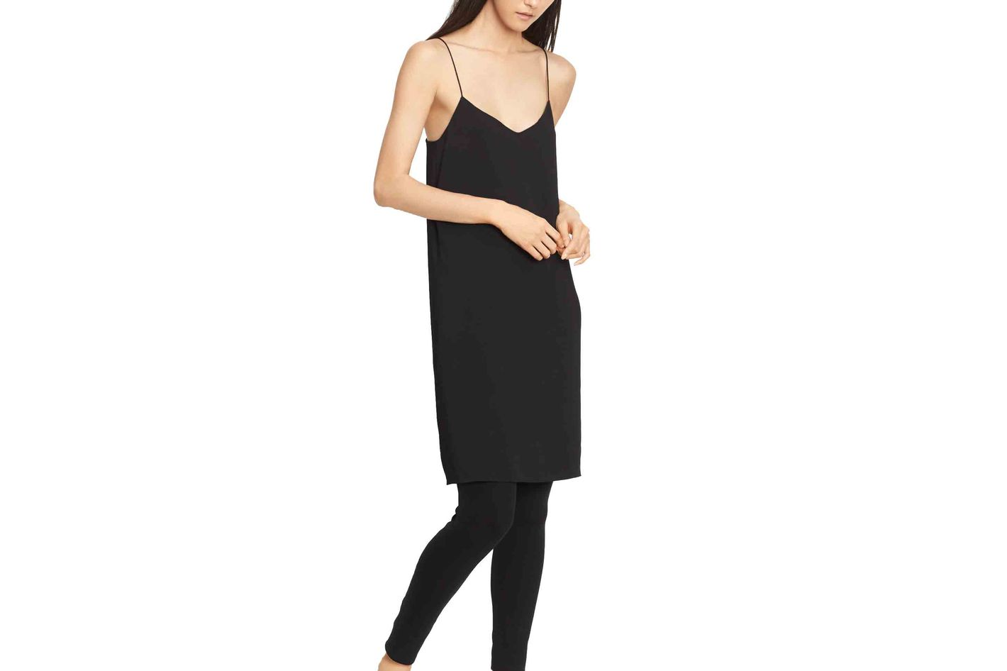 Vince V-Neck Cami Dress