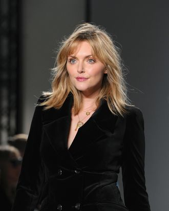 Sophie Dahl at Temperley London. (Eamonn M. McCormack/Getty Images)