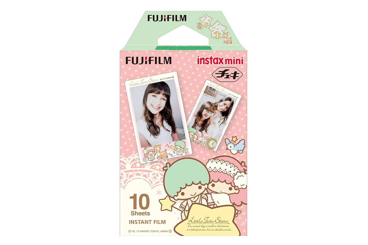 1 X Fuji Instax Mini Films Usable With Polaroid Mio & 300 — Lomo Diana Instant Back