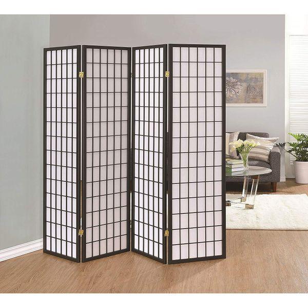 Coaster Home Furnishings 4-Panel Folding Screen