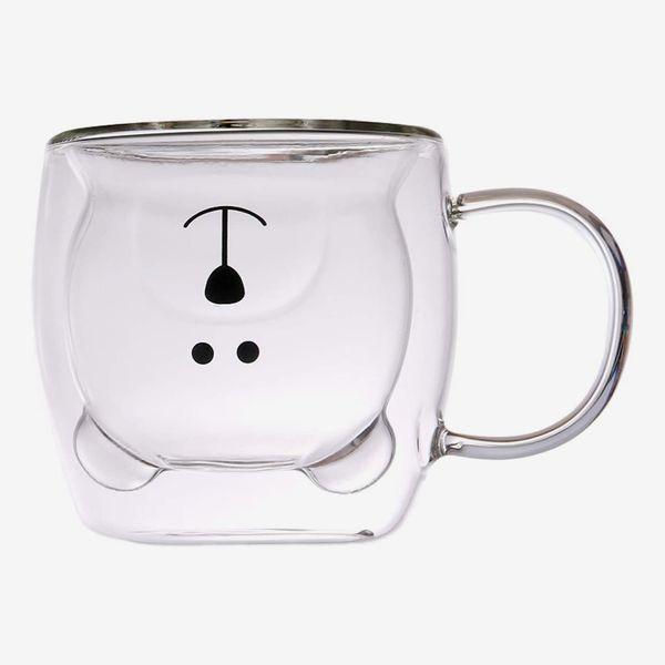 Muchenggift Bear Glass Mug