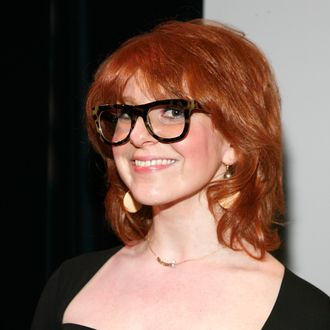 NEW YORK, NY - JANUARY 09: Julie Klausner attends the Uptown Showdown Series: Old Hollywood vs. New Hollywood event at the Symphony Space on January 9, 2012 in New York City. (Photo by Andy Kropa/Getty Images)