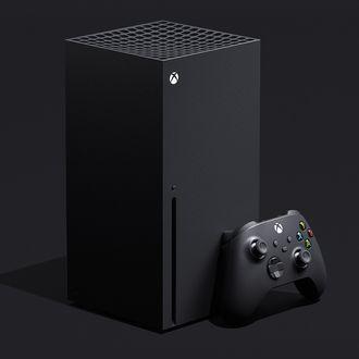The Xbox Series X, sans vape smoke.