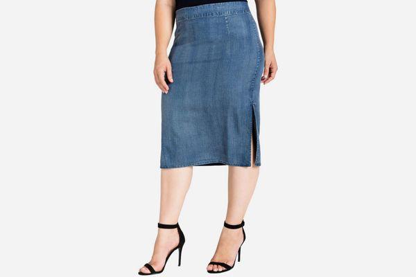 Jade Pencil Skirt
