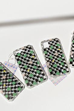 KJP iPhone Case Lila Black & White