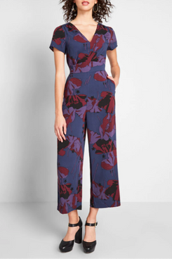 ModCloth Aiming Higher Cropped Jumpsuit
