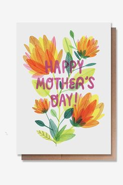 Wunderkid Flowers Mother's Day Card
