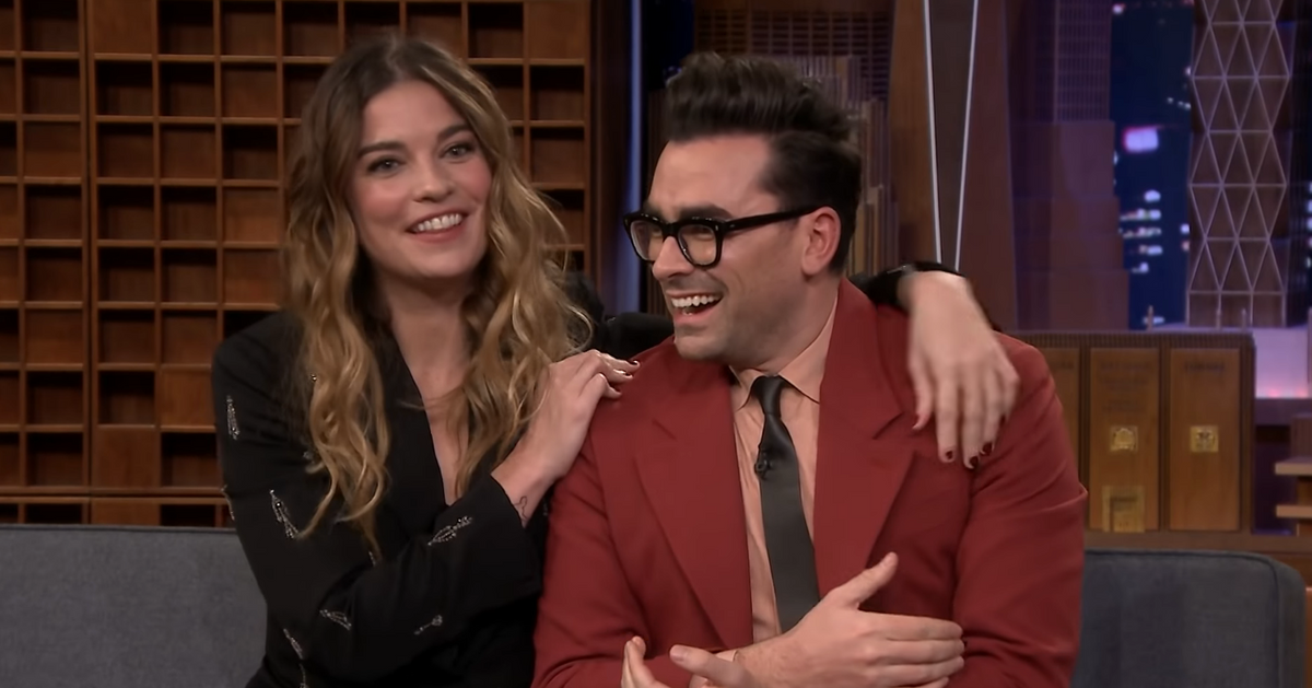 Watch the Cast of Schitt's Creek Love Each Other on The Tonight Show