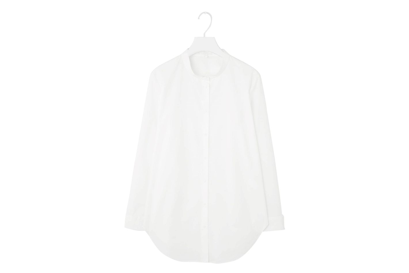 COS Granddad collar shirt