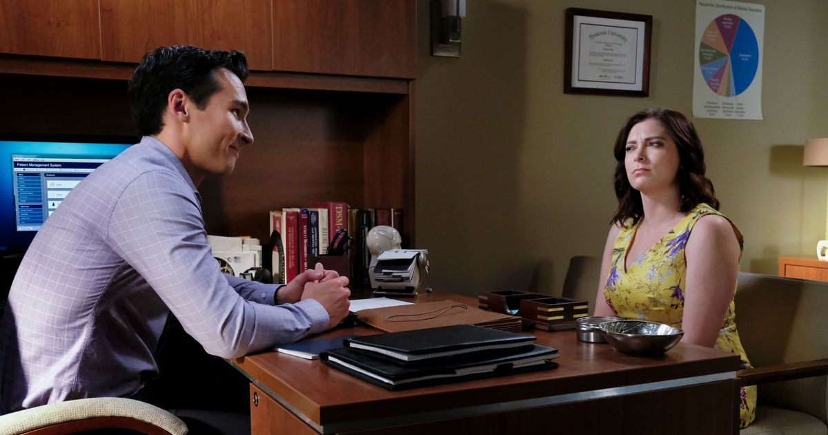 Crazy Ex-Girlfriend-- Rebecca Showing Her 1.8 On The