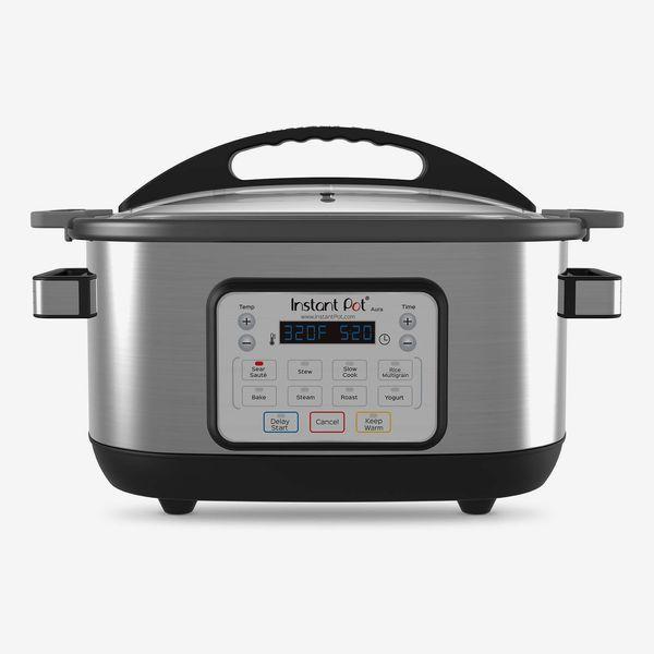 Instant Pot Aura 10-in-1 Multicooker Slow Cooker (6 Qt.)