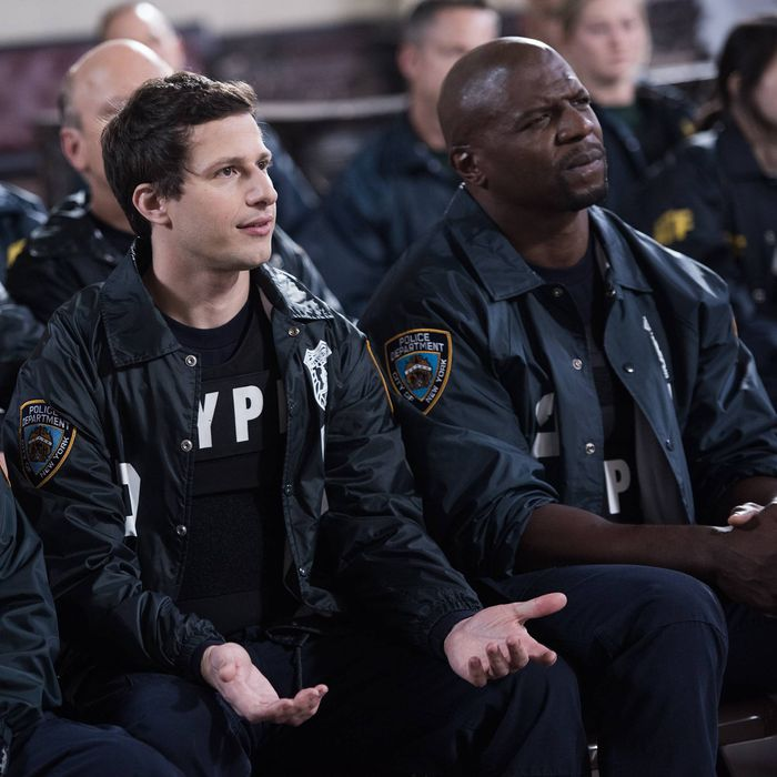 BROOKLYN NINE-NINE: The squad is invited to a Homeland Security terrorist training simulation in the
