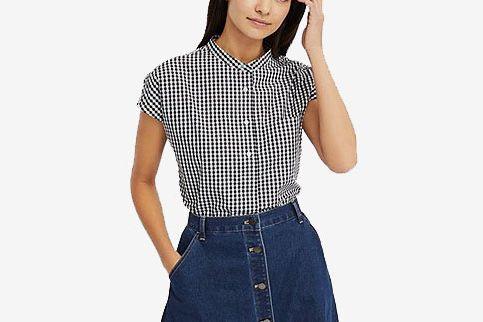 Uniqlo Extra Fine Cotton Short-Sleeve Shirt