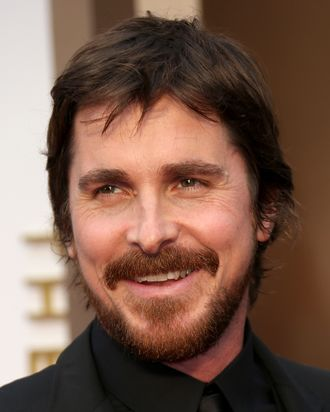 HOLLYWOOD, CA - MARCH 2: Christian Bale arrives at the 86th Annual Academy Awards at Hollywood & Highland Center on March 2, 2014 in Los Angeles, California. (Photo by Dan MacMedan/WireImage)