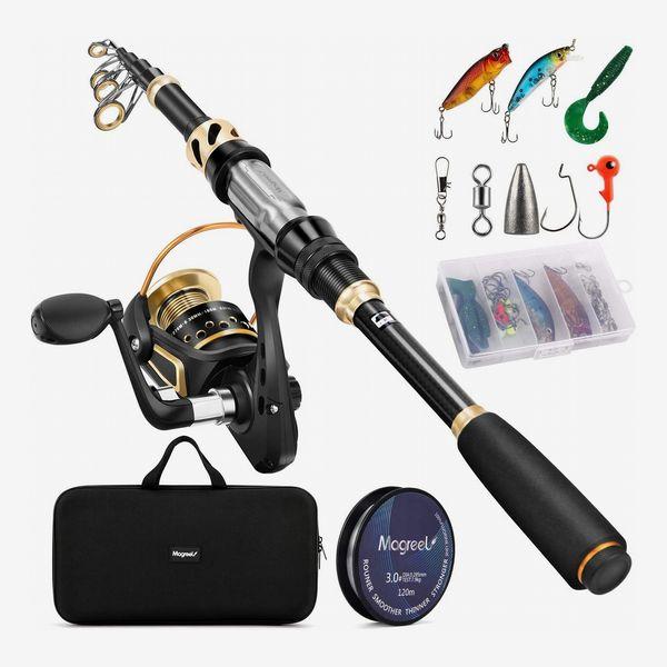 Magreel Telescopic Fishing Rod Combo Set