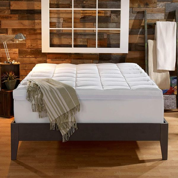 Sleep Innovations Gel Memory Foam 4-inch Mattress Topper