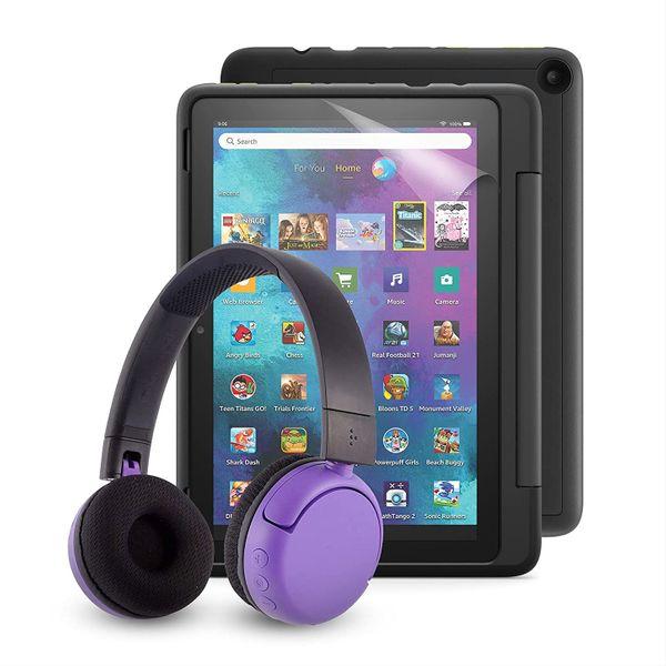 Fire HD 10 Kids Pro Tablet + BuddyPhones