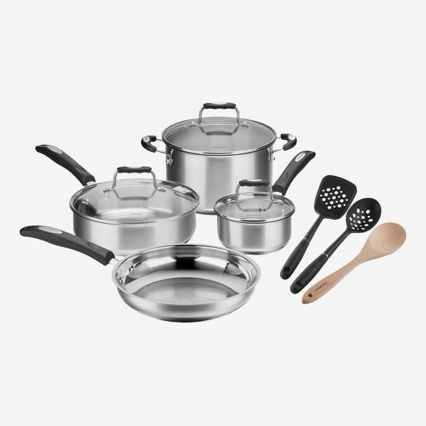 Cuisinart Stainless Steel 10-Piece Cookware Set