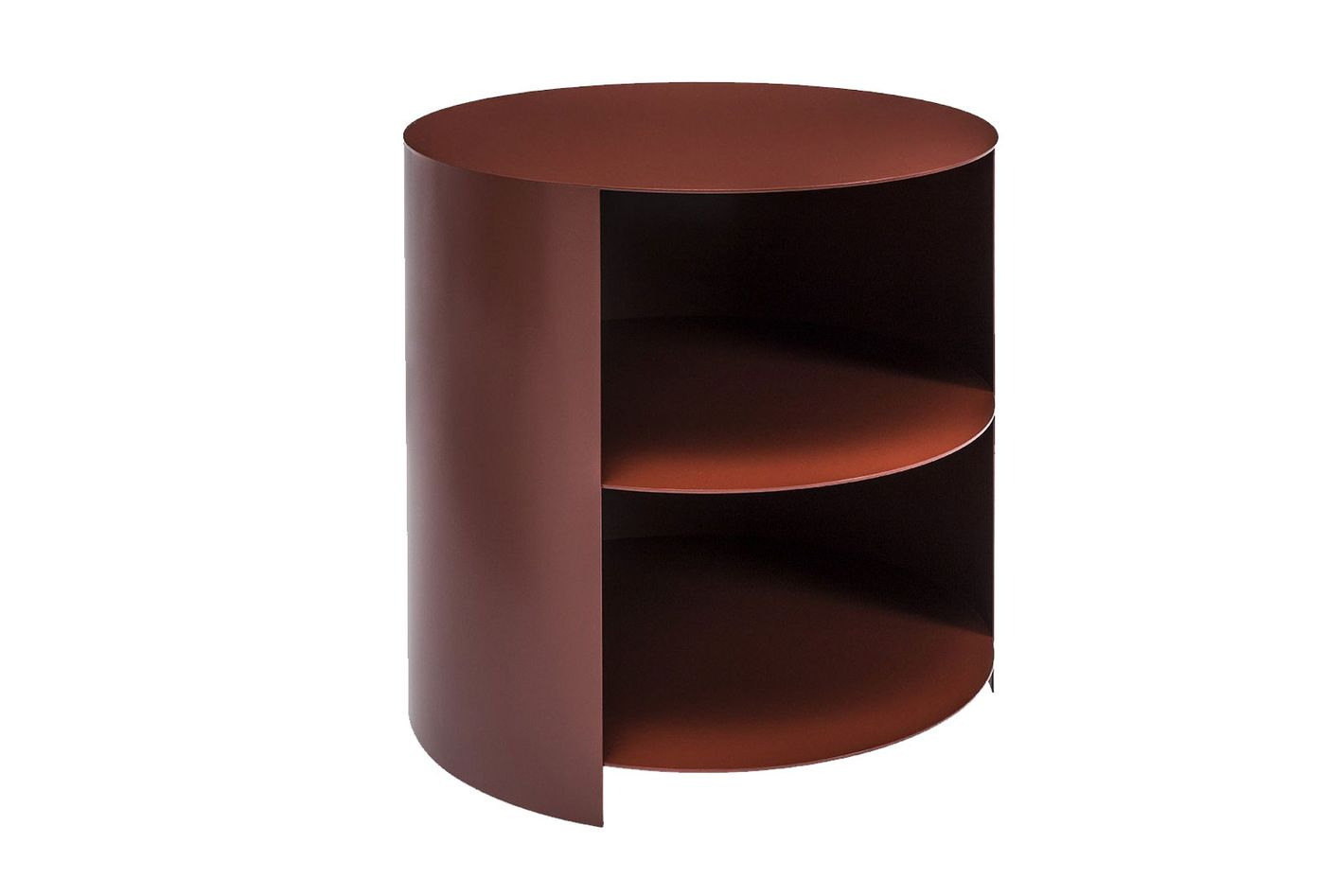 Hem Hide Side Table by Karoline Fesser