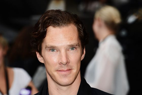 "Benedict Cumberbatch attends European premiere of ""The Dark Knight Rises"" at Odeon Leicester Square on July 18, 2012 in London, England."