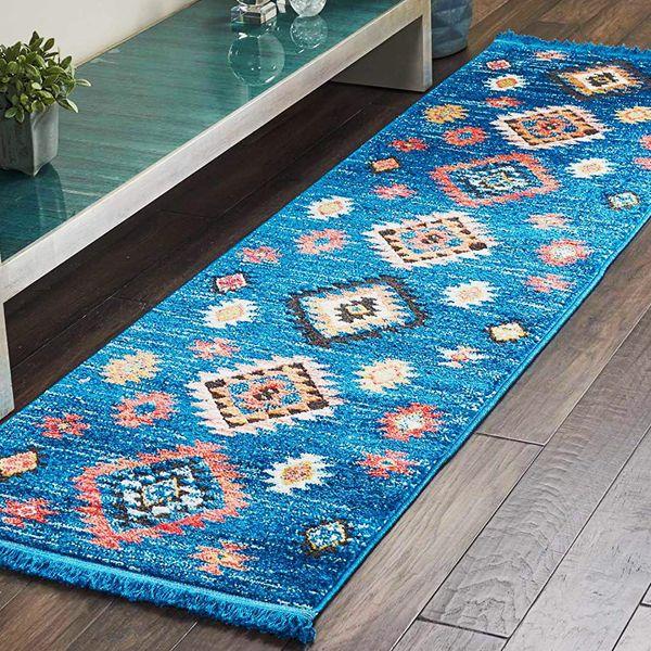 Amazon Brand - Movian Matevir, Rectangular area rug, 236.2 cm x 66 cm (L x W)