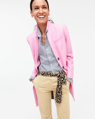 A pink look from J.Crew.