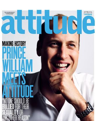 <i>Attitude</i> magazine's July issue.