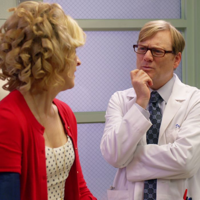 Maria Bamford as Maria, Andy Daly as Dr. Achter.
