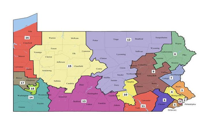 the new map po supreme court of pennsylvania