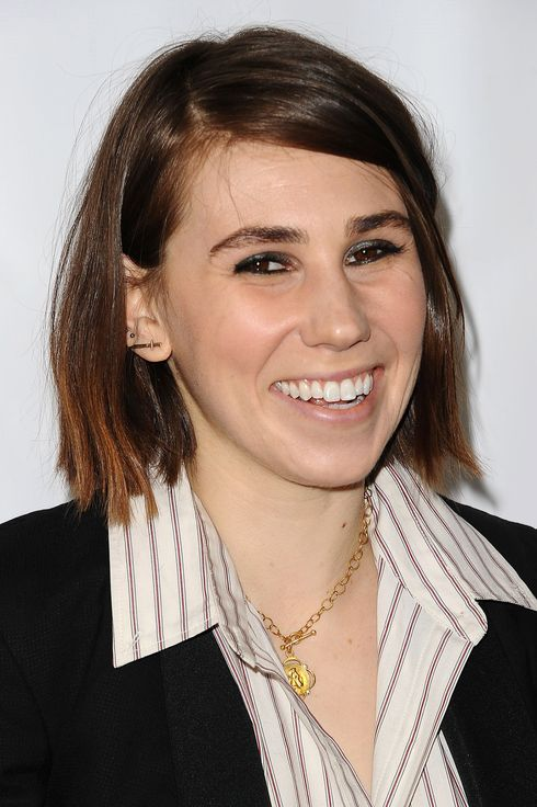 "NORTH HOLLYWOOD, CA - MARCH 13:  Actress Zosia Mamet attends an evening with ""Girls"" at Leonard H. Goldenson Theatre on March 13, 2014 in North Hollywood, California.  (Photo by Jason LaVeris/FilmMagic)"