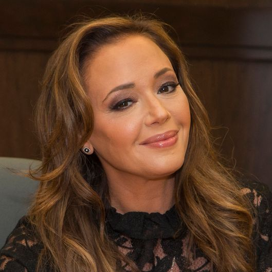"Leah Remini Signs Copies Of Her New Book ""Troublemaker: Surviving Hollywood and Scientology"""