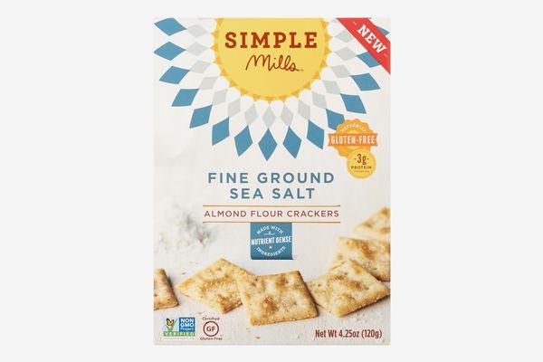 Simple Mills Almond Flour Crackers, Fine Ground Sea Salt