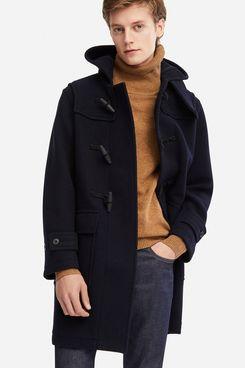 Uniqlo Men's Wool Blend Duffle Coat