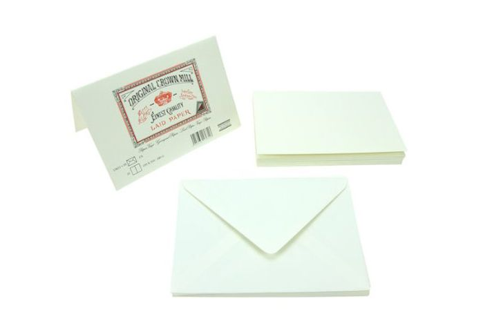Crown Mill Classics Luxury Writing DOUBLE Correspondence Cards