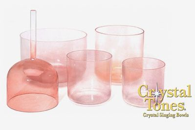 Crystal Tones Singing Bowl Set