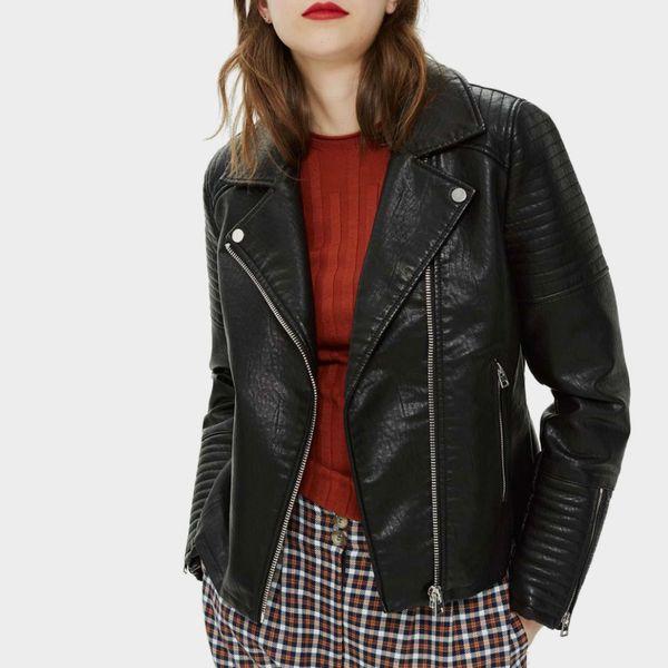 Topshop Rosa Biker Jacket