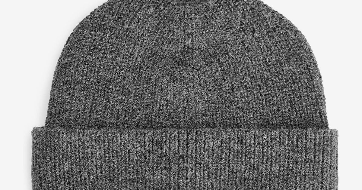 This Very Soft, Very Warm Alpaca Beanie Is Half-Price