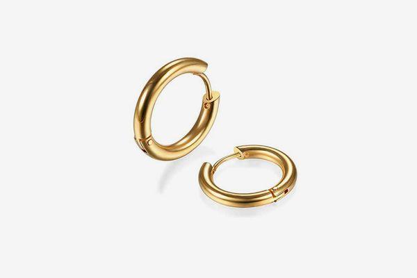 Gabry&jwl Surgical Stainless Steel Huggie Hoop Earrings
