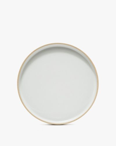 Hasami Porcelain 10 in. Plate in Grey