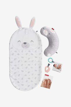 Fisher-Price Baby Bunny Massage Set