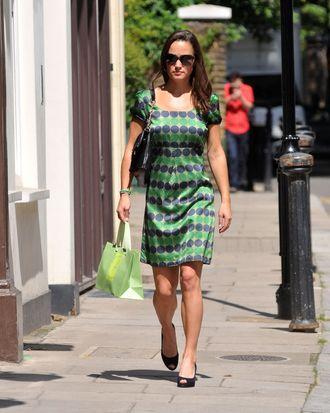 Pippa Middleton on July 22.