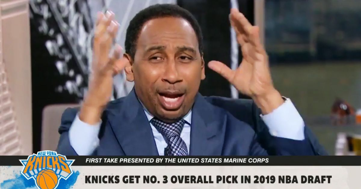 412b9c2f351 The Knicks and Stephen A. Smith Miss Out On Zion Williamson