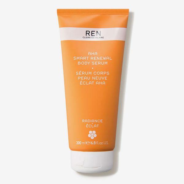REN AHA Smart Renewal Body Serum
