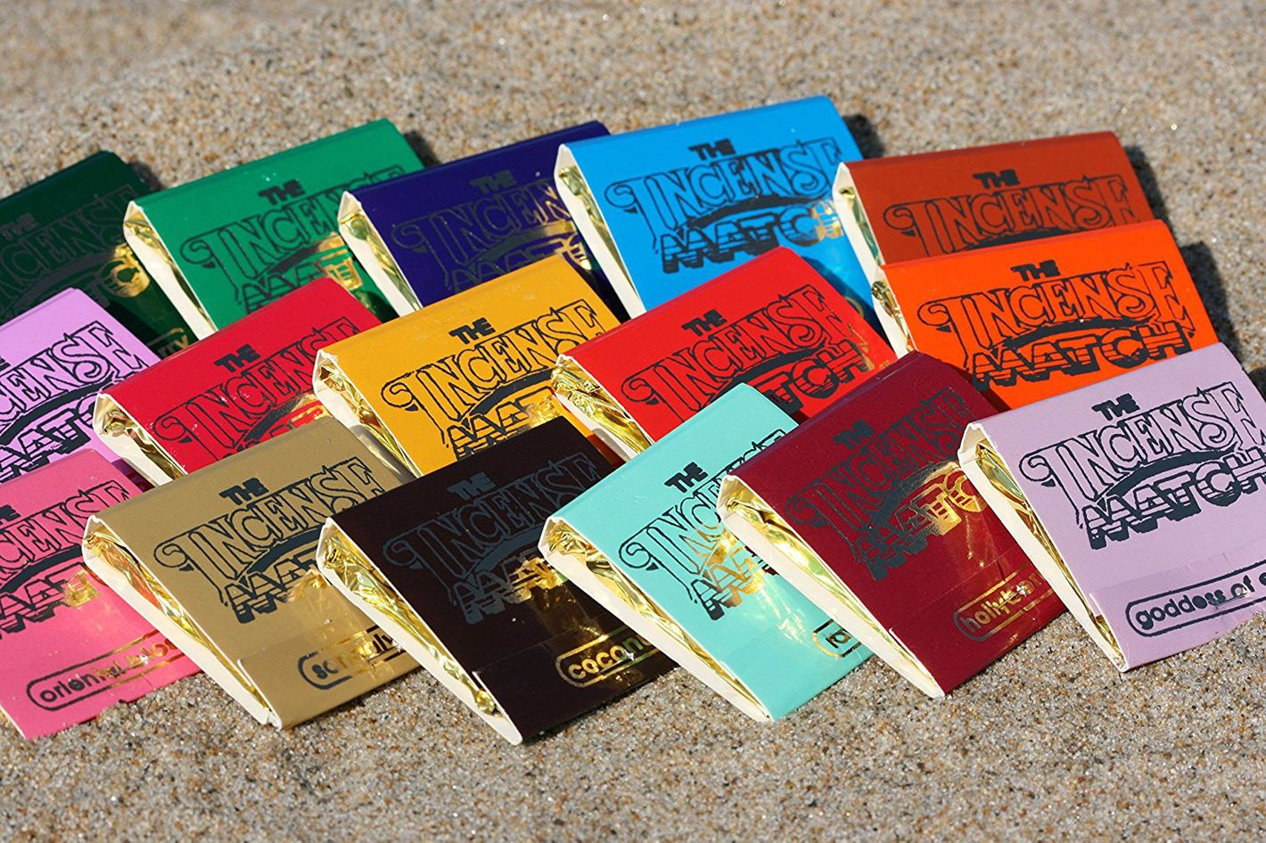 Incense Matches — 15-Pack Variety