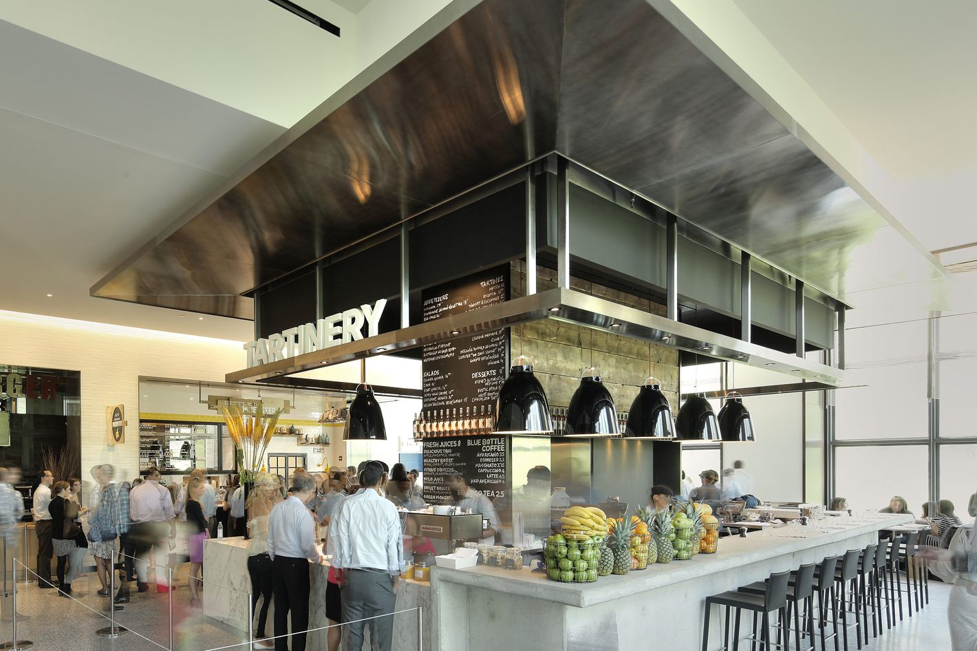 Hudson Eats the rise of new york's glorious modern food halls
