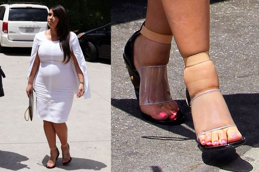 kardashian�s tortured swollen feet a lament the cut